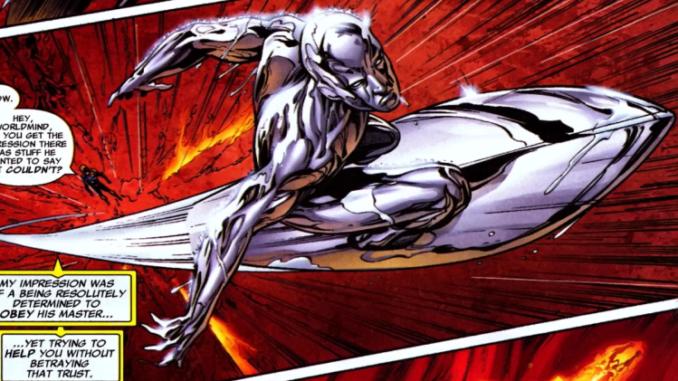 Silver Surfer History Comic Basics