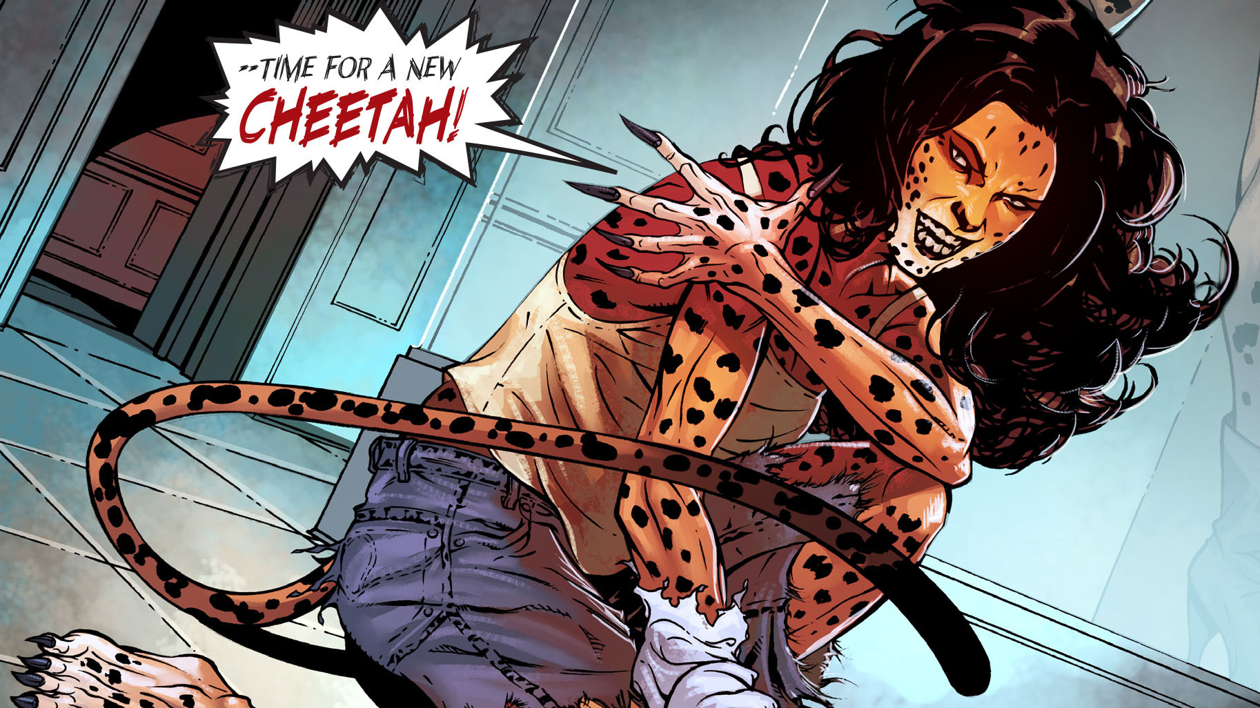 Cheetah (Minerva) - (Origin) - Comic Basics -