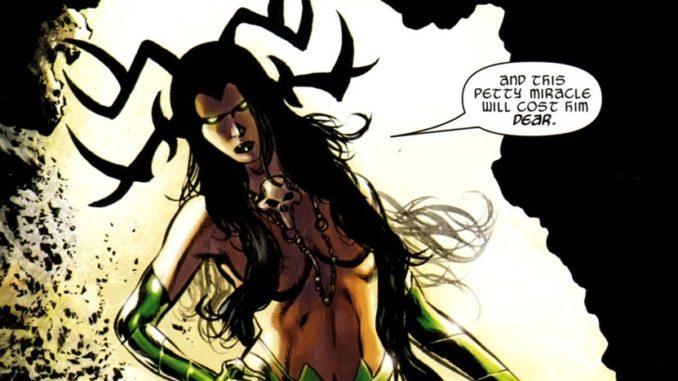 Marvel Origin of Hela