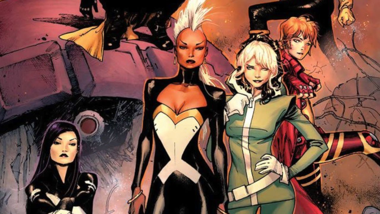 Marvel hot girls The Top 10 Hottest Female Superheroes In Marvel Comics Today