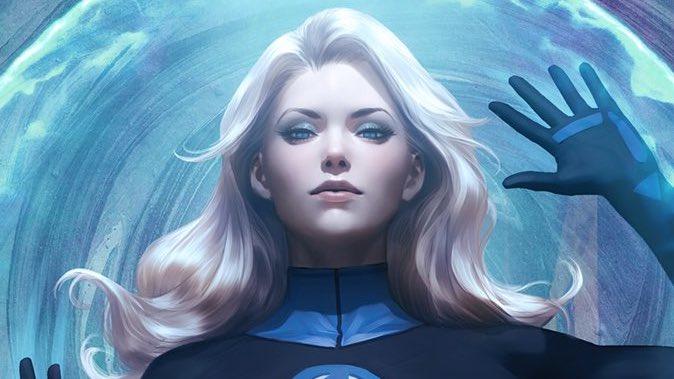 Marvel Comics Invisible Woman