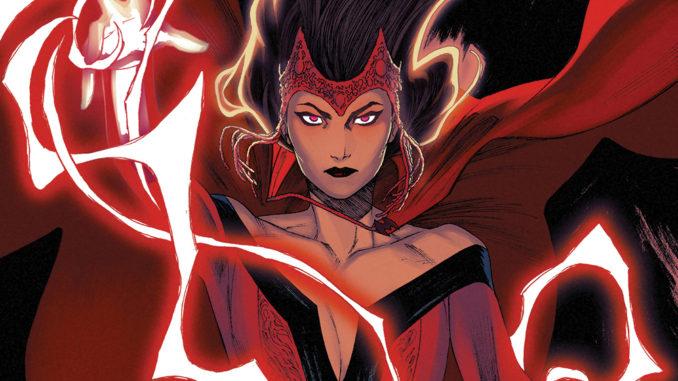 Scarlet Witch Origin