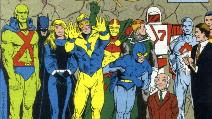 The original Justice League International Members